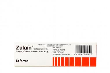 ZALAIN CRE 20G TOPICA TUB 1 UN DERMACARE S.A.