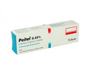 Peitel 0.25 % Crema Caja Con Tubo Con 30 g