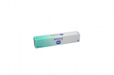 Aciclovir 5 % Caja Con Tubo x 10 g Ungüento Tópico - Antiviral
