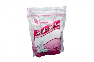Ácido Bórico Bolsa x 500 g - Antiséptico