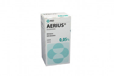 Aerius Jarabe 0.05 % Caja Con Frasco 120 mL
