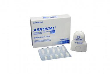AEROVIAL Polvo 6 / 200 mcg Caja Con 30 Cápsulas Con Inhalador
