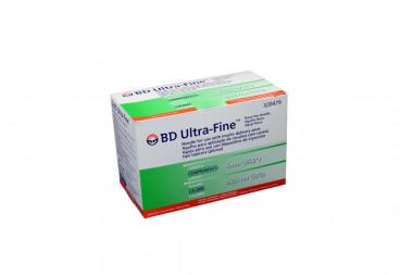 Aguja Para Insulina BD Ultra Fine Caja Con 100 Unidades