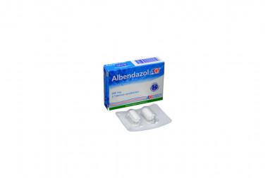 Albendazol 200 mg Caja x 2 Tabletas Recubiertas – American Generics