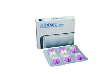 Albisec 166.66 / 33.33 mg Caja Con 12 Cápsulas