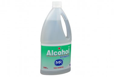 Alcohol 70 Antiseptico Mk Frasco Con 700 mL