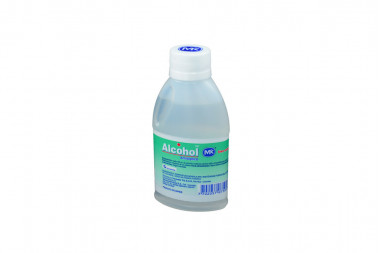 Alcohol Antiséptico MK Frasco Con 120 mL