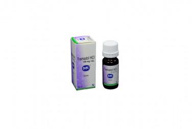 Tramadol Hcl 100 mg Caja Con Frasco Gotero x 10 mL - Tecnoquímicas S.A.