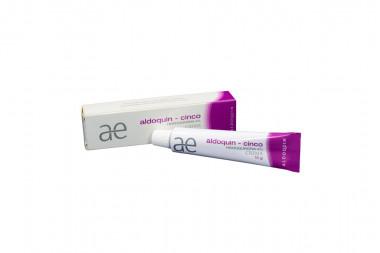 Aldoquin Cinco 4 % Crema Caja Con Tubo Con 15 g