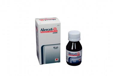 Alercet-D Jarabe 5 / 10 mg Caja Con Frasco Con 60 mL