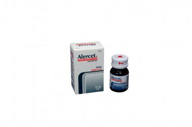 Alercet Solución Oral 10 mg/mL Caja Con Frasco Con 15 mL - Sabor A Uvas