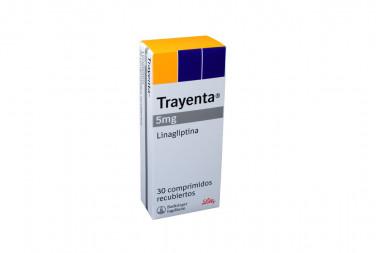 Trayenta 5 mg Caja Con 30 Comprimidos Recubiertos