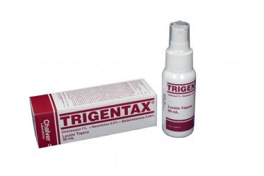 Trigentax Loción Caja Con Spray Con 50 mL