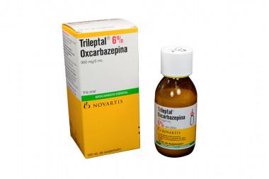Trileptal Suspensión 6 % Caja Con Frasco Con 100 mL