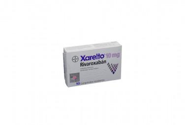 Xarelto 10 mg Caja Con 10 Comprimidos Recubiertos