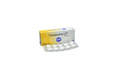 Trimebutina LP 300 mg Caja Con 10 Tabletas Cubiertas