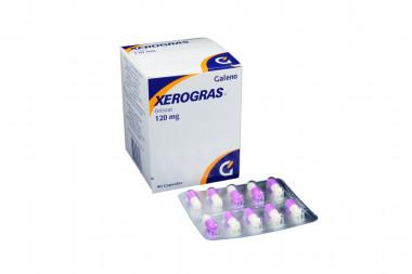 XEROGRAS 120 mg Caja Con 90 Cápsulas