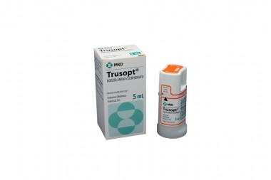 Trusopt Solución Oftálmica 2 % Caja Con Frasco Con 5 mL