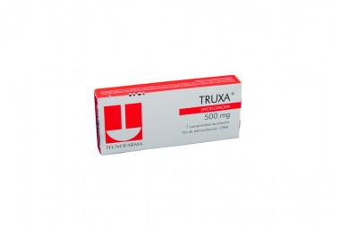 TRUXA 500 mg Caja Con 7 Comprimidos Recubiertos