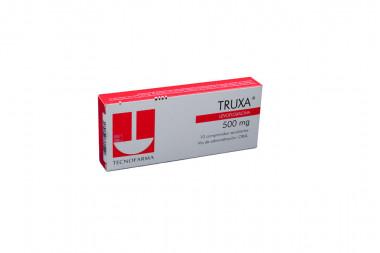 Truxa 500 mg Caja Con 10 Comprimidos Recubiertos