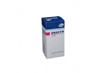 Unasyn Polvo Para Suspensión 250 mg Caja Con Frasco Con 60 mL