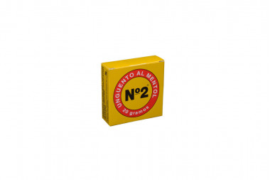 Unguento Al Mentol N°2 Caja Con Frasco Con 20 g