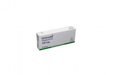 Urocuad 100 mg Caja Con 30 Tabletas