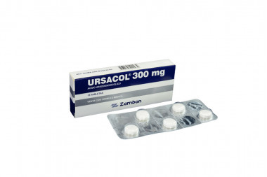 Ursacol 300 mg Caja Con 15 Tabletas