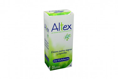 Altex Caja Con Frasco x 50 g Gel Exfoliante