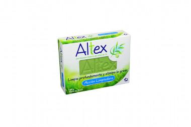 Altex Jabón Acción Limpiadora Caja Con Barra Con 100 g
