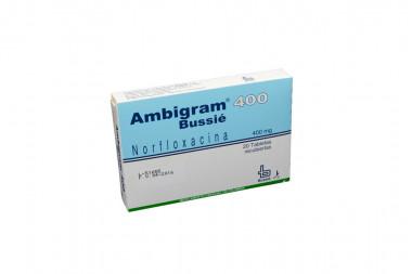 Ambigram 400 mg Caja Con 20 Tabletas Recubiertas