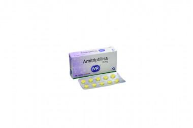 Amitriptilina 25 mg Caja x 30 Tabletas Recubiertas - Tecnoquímicas