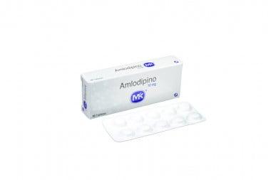 Amlodipino 10 mg Caja Con 10 Tabletas
