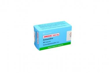Amoxal 500 mg Caja Con 30 Cápsulas