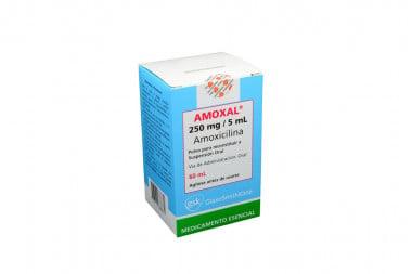 Amoxal 250 mg / 5 mL Caja Con Frasco x 60 mL - GlaxoSmithkline