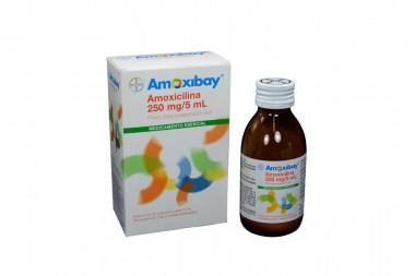 Amoxibay Polvo 250 mg / 5 mL Caja Con Frasco De 75 mL - Suspensión Oral