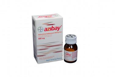 Azibay Polvo 200 mg / 5 mL Caja Con Frasco Con 600 mg - Suspensión Oral