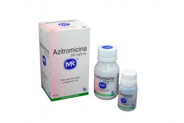 Azitromicina 200 mg / 5 mL Caja Con Frasco x 15 mL – Tecnoquímicas