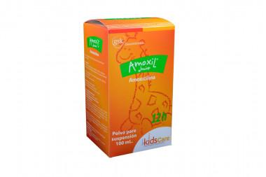Amoxil Junior Polvo Para Suspensión Caja Con Frasco 100 mL