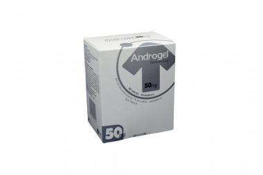 Androgel 50 mg Caja Con 50 Sobres