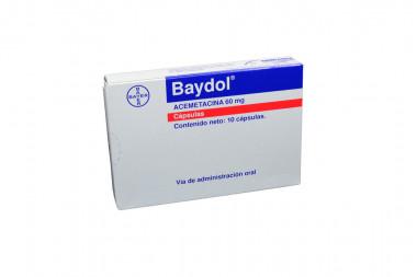Baydol 60 mg Caja Con 10 Cápsulas