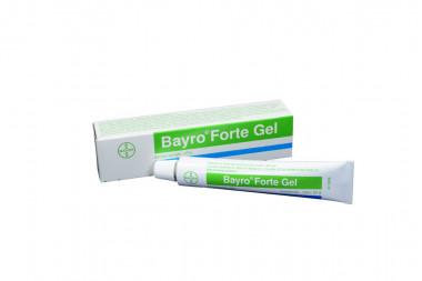Bayro Forte 10 % Gel Caja Con Tubo Con 20 g