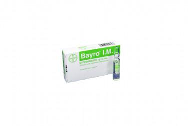 Bayro I.M. Solución Para Inyección 1 g Caja Con 1 Ampolla De 2 mL