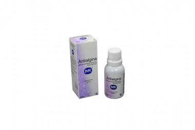Antialgina 300 / 50 / 30 mg Solución Oral Caja Con Frasco Con 30 mL