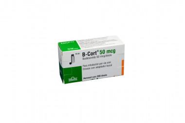 B-Cort 50 mg Caja Con Aerosol Con 200 Dosis