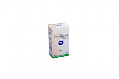 Beclometasona Forte Solución 250 mcg Caja Con Inhalador Con 200 Dosis