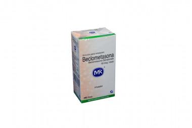 Beclometasona Solución Para Inhalación 50 mcg Caja Con Inhalador Con 200 Dosis