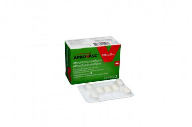 Aprovasc 300 / 5 mg Caja Con 28 Comprimidos Recubiertos