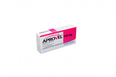 Aprovel 150 mg Caja Con 14 Comprimidos Recubiertos