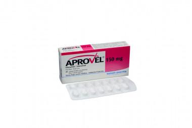 Aprovel 150 mg Caja Con 28 Comprimidos Recubiertos